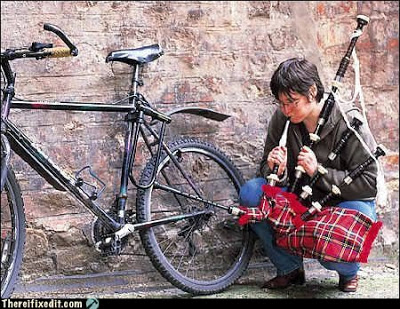 Bagpipe Bike Pump